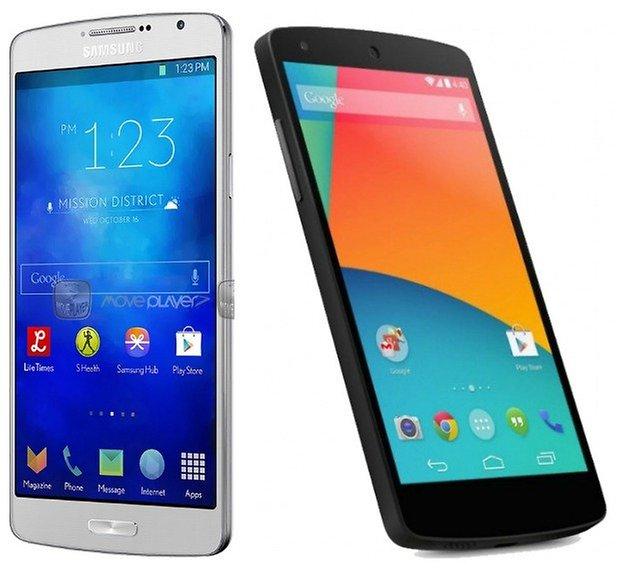 AndroidPIT S5 Nexus5