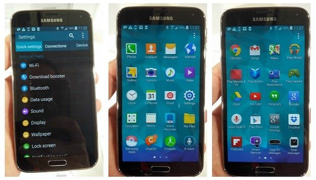 La experiencia Galaxy S5 con un par de aplicaciones (actualizado)
