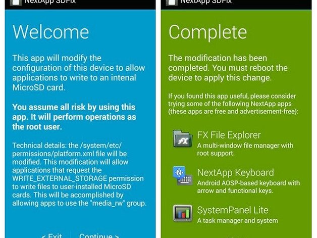 How to fix the write to sd card problem on kitkat androidpit solutioingenieria Image collections