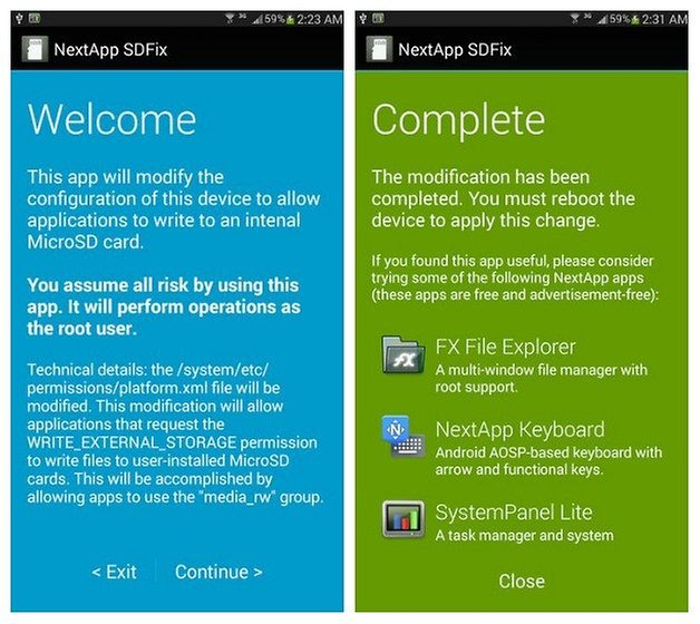 AndroidPIT SDFix