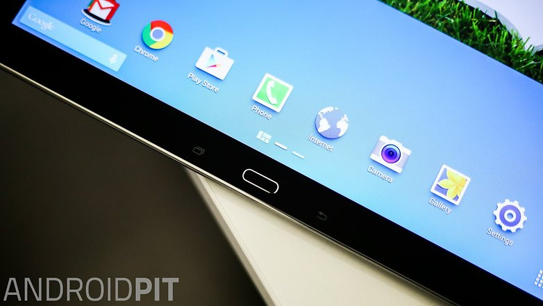AndroidPIT Samsung Galaxy Note pro 12 2 LTE display home button