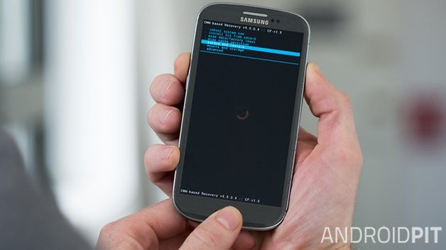 AndroidPIT Samsung Galaxy S3 Recovery Mode