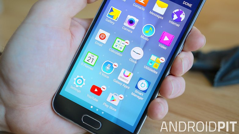 AndroidPIT Samsung Galaxy S6 disable bloatware