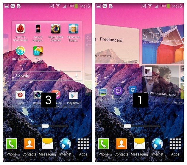 AndroidPIT Samsung Screen Slider