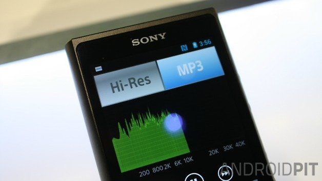 AndroidPIT Sony Walkman NW ZX2 2