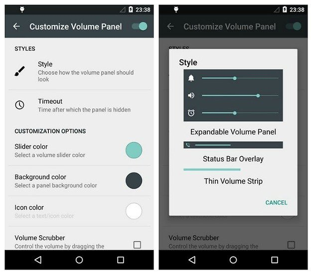 AndroidPIT Sound HUD lollipop silent mode