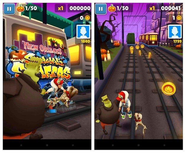 AndroidPIT Subway Surfers
