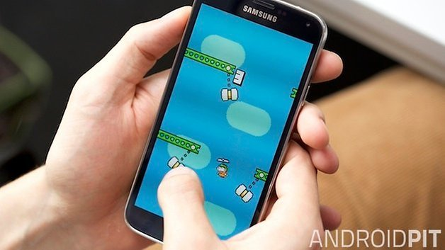 AndroidPIT Swing Copters teaser