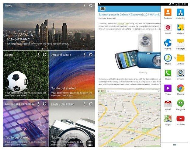 AndroidPIT Tab Pro Magazine Multitasking