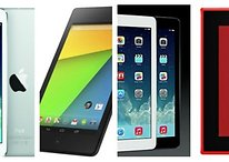 Comparatif : iPad Mini, iPad Air, Google Nexus 7 et Nokia Lumia 2520