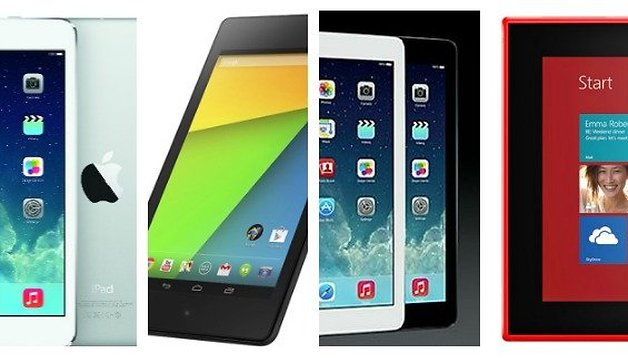 iPad Vs Nexus 7 Vs Lumia 2520: Platform tabs battle it out