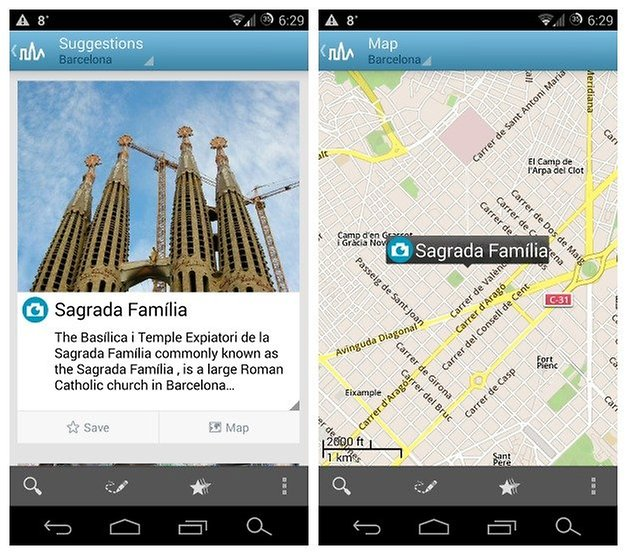 AndroidPIT Triposo Barcelona 4