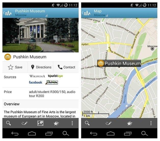 AndroidPIT Triposo Pushkin Museum