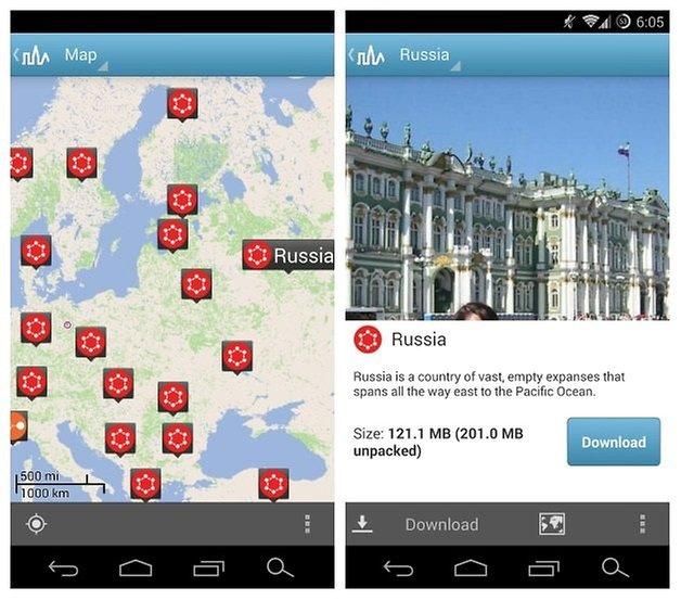 AndroidPIT Triposo Russia