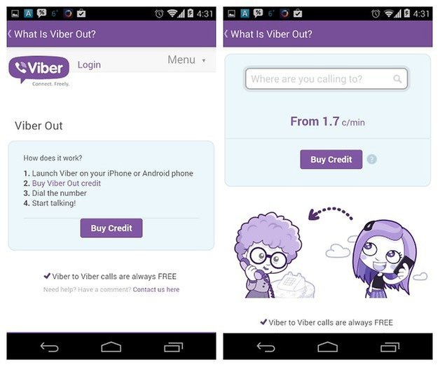 AndroidPIT Viber 2
