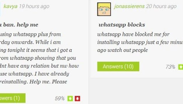 WhatsApp and WhatsApp Plus: the lockout explained [updated