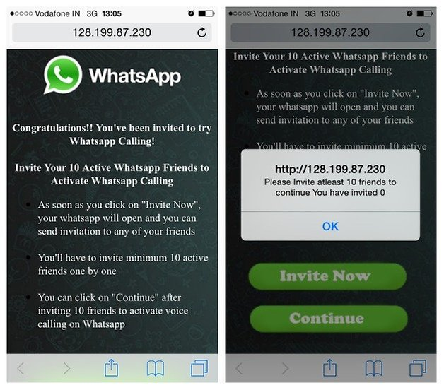 AndroidPIT WhatsApp voice calling scam iPhone