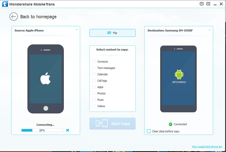 how to transfer everything from one iphone to another how to transfer everything from iphone to android androidpit 21419