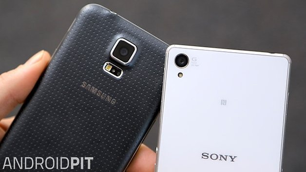 AndroidPIT Xperia Z3 Galaxy S5 2