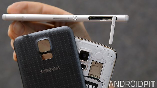 AndroidPIT Xperia Z3 Galaxy S5 4