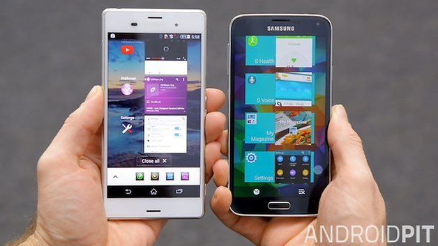 AndroidPIT Xperia Z3 Galaxy S5 8