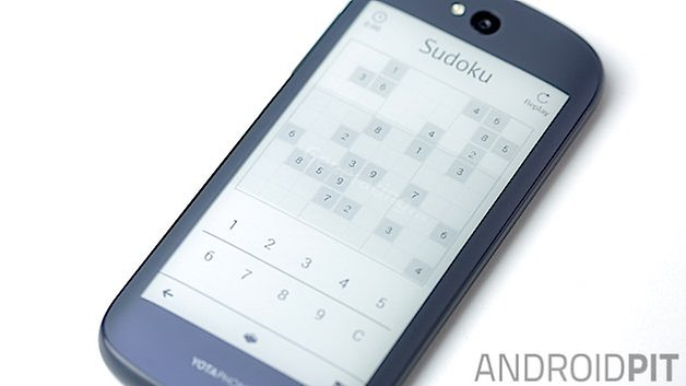 AndroidPIT Yotaphone2 back screen game