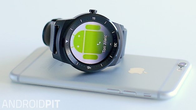 AndroidPIT androidwear apple iphone lg watch r