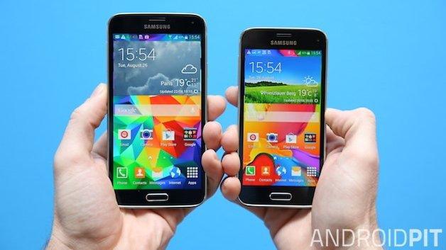 AndroidPIT samsung s5 vs s5 mini