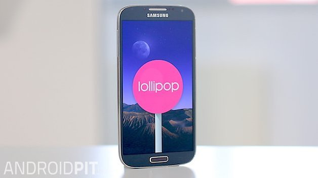 AndroidPIT samsung galaxy s4 android lollipop