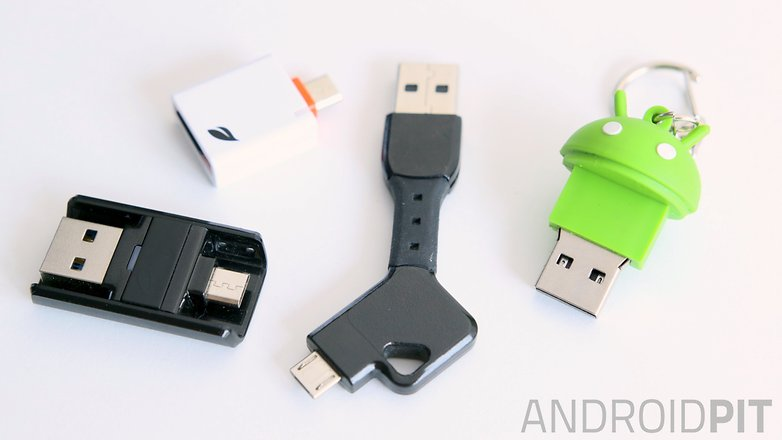 AndroidPIT storage solutions microSD USB chargekey