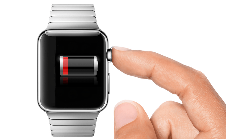 Apple Watch digitial rown