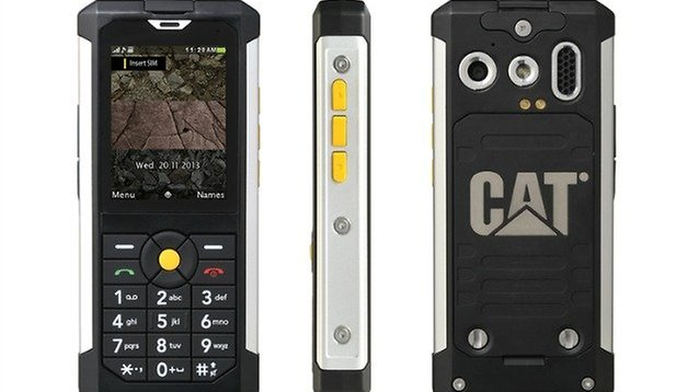 Like to drop your phone? Try the rugged Android: Caterpillar CAT B100