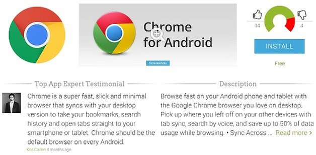 ChromeAppProfilePage