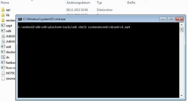 CommandPromptScreenRecord