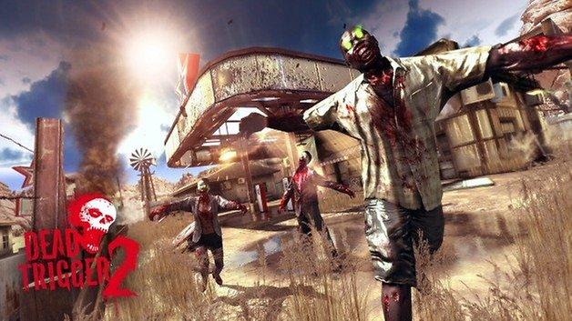 Dead Trigger 2 promo screenshot desert