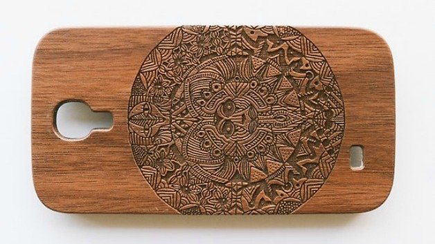 Etsy Catlord timber case galaxy s4