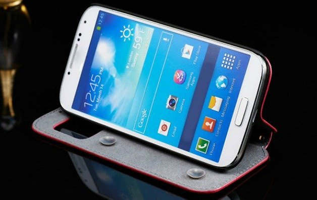 GalaxyS4Case leather