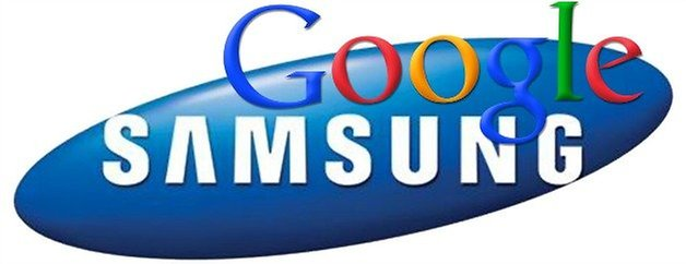 Google Samsung Logos