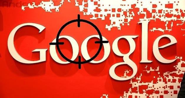 Google logo target