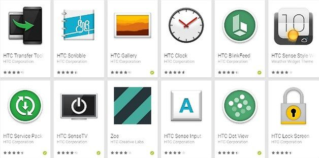 HTC Play Store Apps