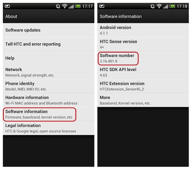 Android for Beginners: What is my Firmware Number? | AndroidPIT