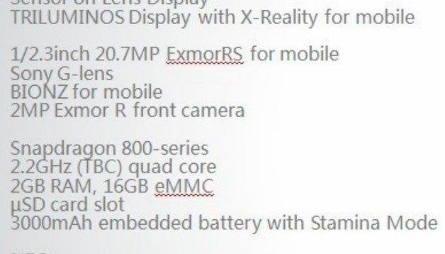 Il Sony Honami i1 sarà presentato all'IFA a settembre
