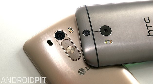 Fotocamera LG G3 HTC One M8
