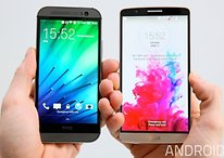 Comparación LG G3 vs. HTC One M8 en vídeo