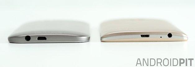 LG G3 HTC One M8 ports