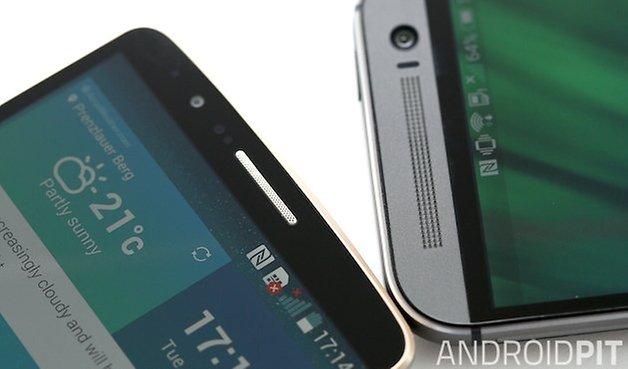LG G3 HTC One M8 top bezel