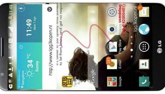 LG G3 se presentará en junio - Rumor