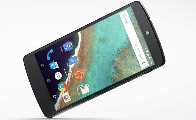 Nexus5 Android50 front