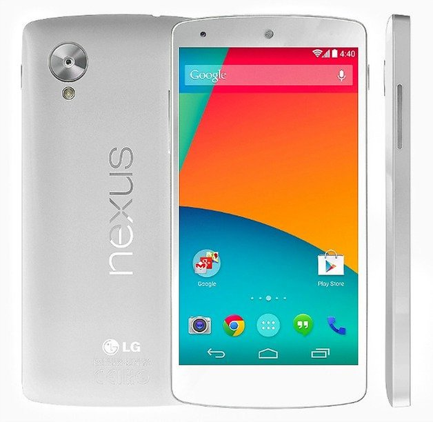 Nexus5 white render