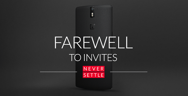 No More Invites OnePlus One